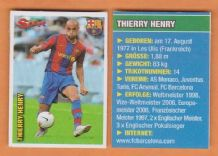 Barcelona Thierry Henry France